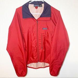 Vintage Patagonia Red Windbreaker Jacket Large